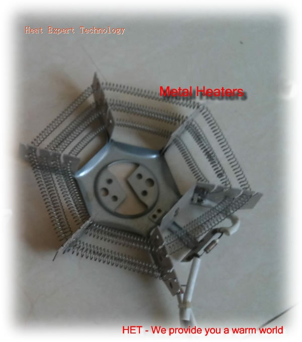 Metal heaters