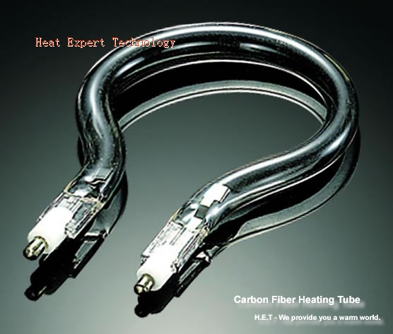 Carbon fiber tubular heater
