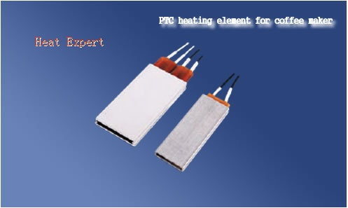 PTC heating element for coffee maker