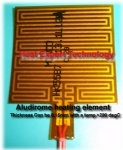 Aludirome Electric heating film