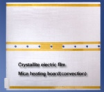 Crystallite electric film Mica heating board(convection)